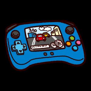 ゲームのイラスト(携帯型ゲーム機)
