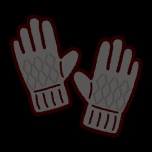 手袋のイラスト