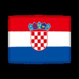 国旗のイラスト(クロアチア)