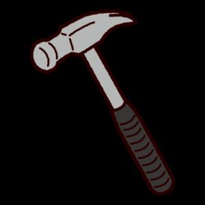工具のイラスト(ハンマー)