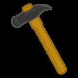 工具のイラスト(金槌)