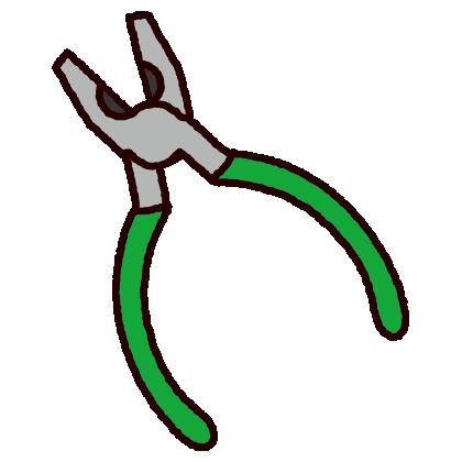 工具のイラスト(ペンチ)