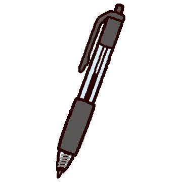 ボールペンのイラスト(ノック式)
