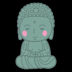 大仏のイラスト(仏像)