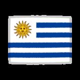 ウルグアイ国旗のイラスト