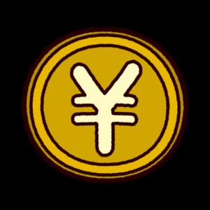 円マークのイラスト