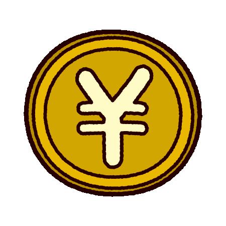 円マークのイラスト(通貨)