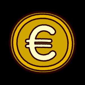 ユーロマークのイラスト