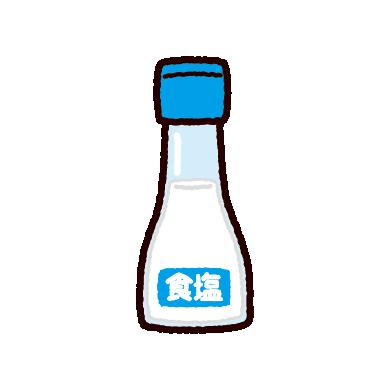 塩のイラスト(調味料)