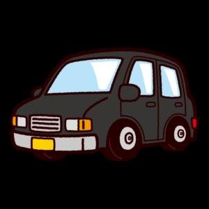 車のイラスト(小型車・軽自動車)