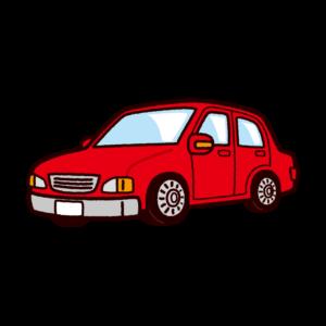車のイラスト(セダンタイプ・普通車)