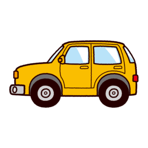 車のイラスト(SUV・オフロード)