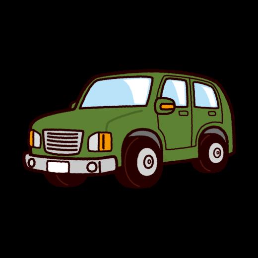 車のイラスト(SUV・オフロード)(8カット)
