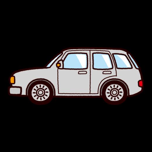 車のイラスト(ステーションワゴン)(8カット)