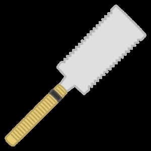 工具のイラスト(ノコギリ)
