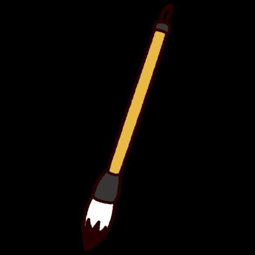 筆のイラスト(書道・習字)(3カット)