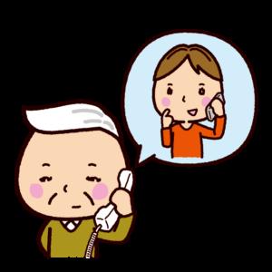 電話のイラスト組み合わせ例