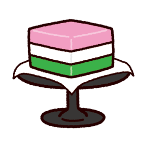 ひし餅のイラスト(ひな祭り)