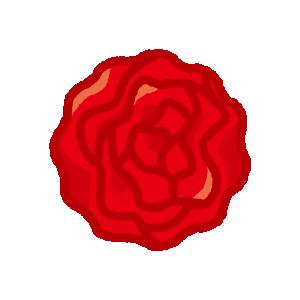 かわいい紙花のイラスト(18カット)