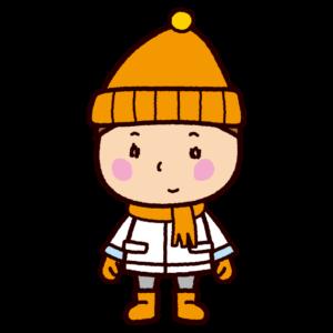 冬服の男の子のイラスト