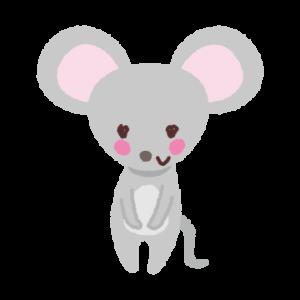 ネズミのイラスト(子)