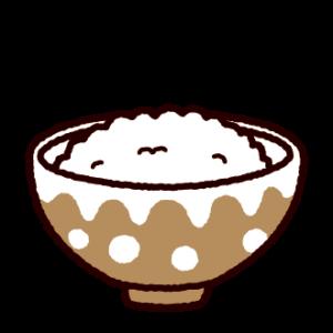 ご飯のイラスト(白ごはん)