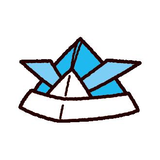 折り紙のイラスト(兜・こどもの日)(8カット)
