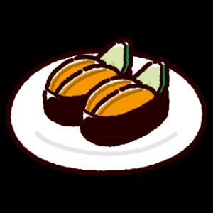 お寿司のイラスト(ウニ)