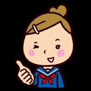 いいねのイラスト(学生)