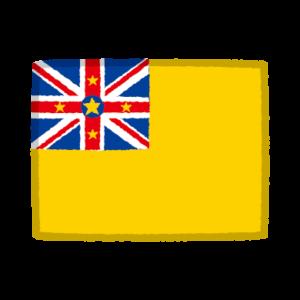 国旗のイラスト(ニウエ)