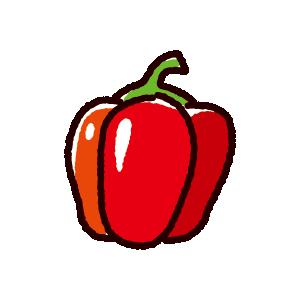 パプリカのイラスト(野菜)(3カット)