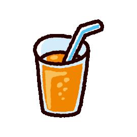 ジュースのイラスト(4カット)