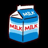 牛乳のイラスト(パック)