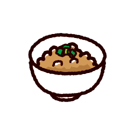 納豆のイラスト(小鉢)