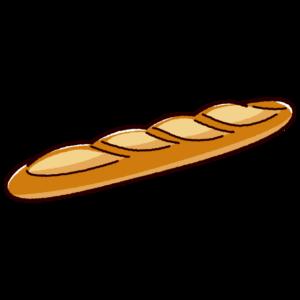 パンのイラスト(フランスパン)