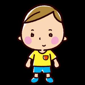 子供のイラスト(男の子)