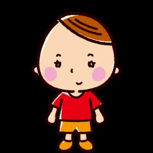 子供のイラスト(女の子)