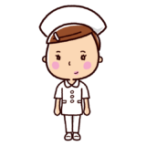 看護師のイラスト(ナース・看護婦・ズボン)