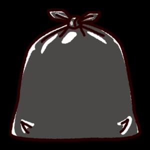 ゴミ袋のイラスト