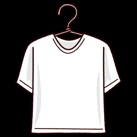洗濯物のイラスト(シャツ)(2カラー)