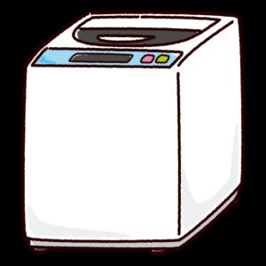 洗濯機のイラスト(縦型)