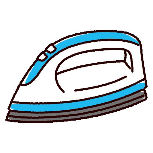 アイロンのイラスト(家電)