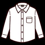 ワイシャツのイラスト