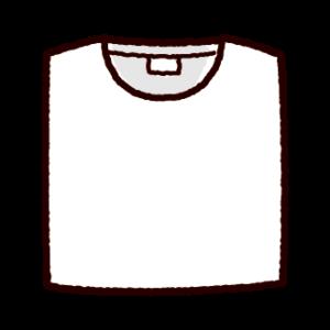 たたんだTシャツのイラスト