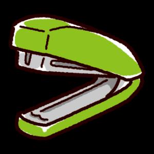 文房具のイラスト(ホッチキス)