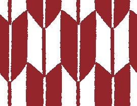 和柄のイラスト(矢絣模様・やがすり)