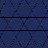 和柄のイラスト(籠目模様・かごめ)