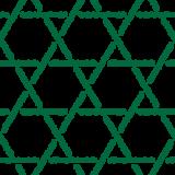 和柄のイラスト(籠目模様・かごめ・編み込み)