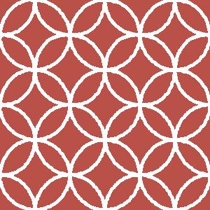 和柄のイラスト(七宝模様・しっぽう)(4カラー)