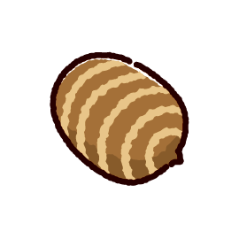 里芋のイラスト